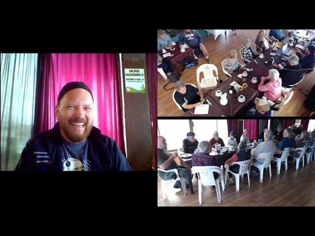 Live YouTube Meeting  #18 February 04, 2020  Broadcasting from Tequila's