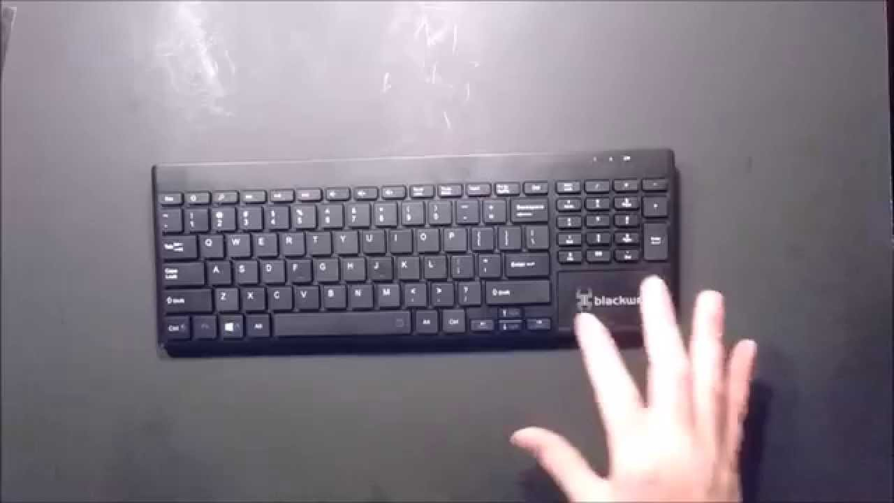 blackweb wireless keyboard how to connect