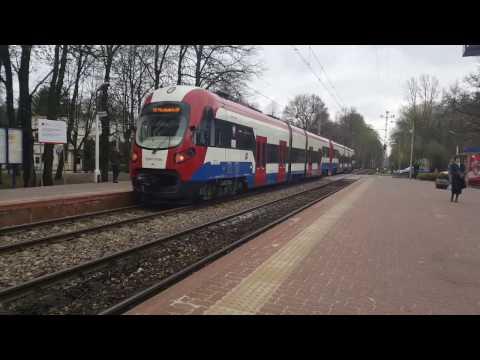3x EN97-012b WKD na linii Warszawa Śródmieście WKD- Grodzisk Maz.i WarszawaŚródmieścieWKD-Milanówek