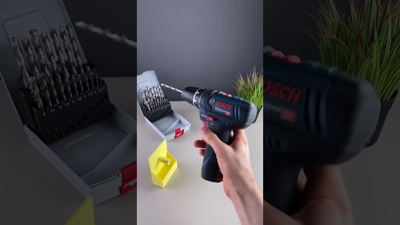 Wall Drill Dust Collector - 3D Printed
