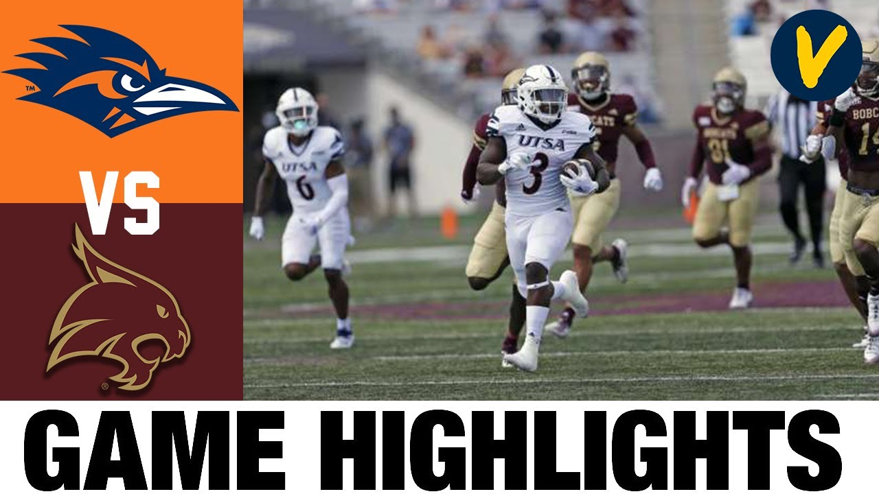 UTSA vs Texas State Highlights | Week 2 College Football Highlights | 2020 College Football