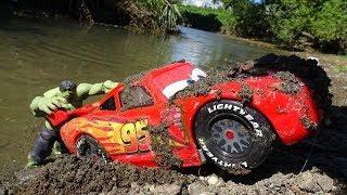 Disney Cars & Hulk Rescue Story