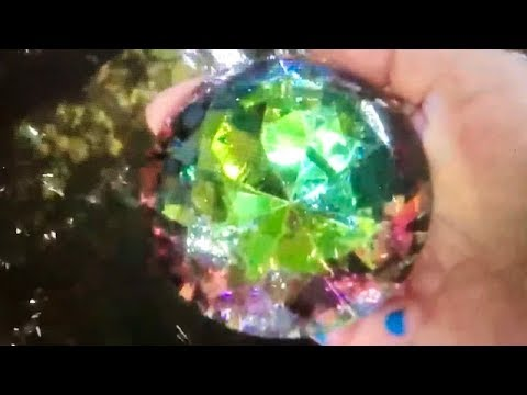 Real Giant Rainbow Gem Found In The Lake On Fun House Tv Youtube