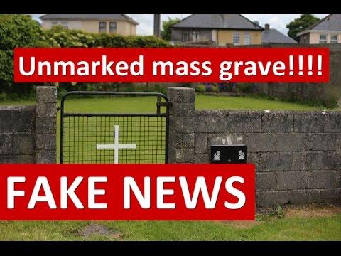 "FAKE NEWS: Tuam ""Unmarked mass grave"" turns out to originally had gravestones!!"