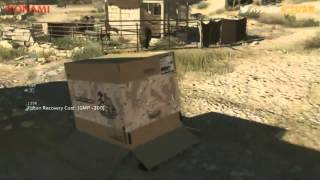 MGS 5 - Phantom Pain 30 min. gameplay E3 2014
