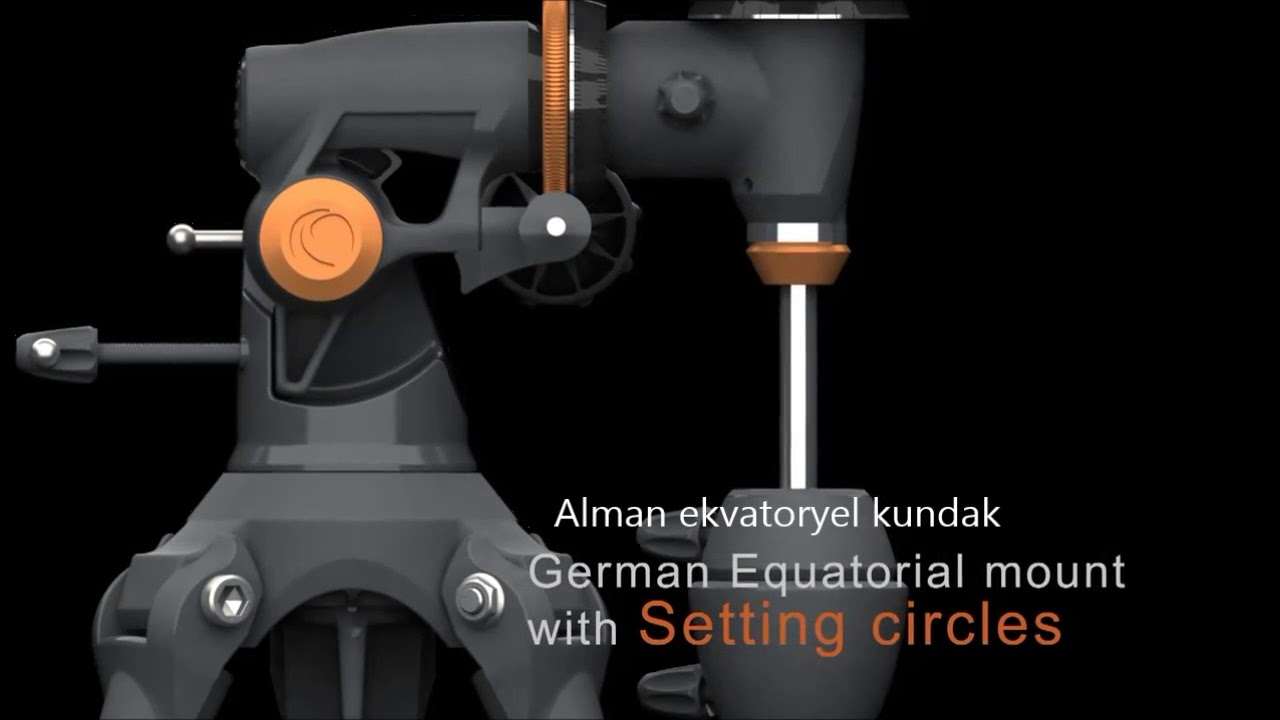 Celestron astromaster 130 eq teleskop tanıtım videosu türkçe