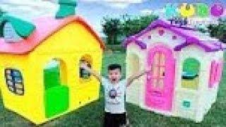 Kudo Play Bike Toys Power Wheels for Kids /Ngôi Nhà Cho Bé