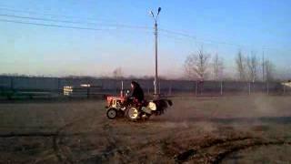 Пацаны и трактор