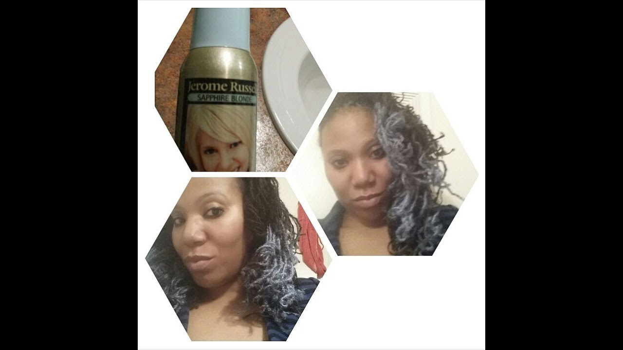 Lies Deceptiondying My Hair With Jerome Russell Temporary Hair
