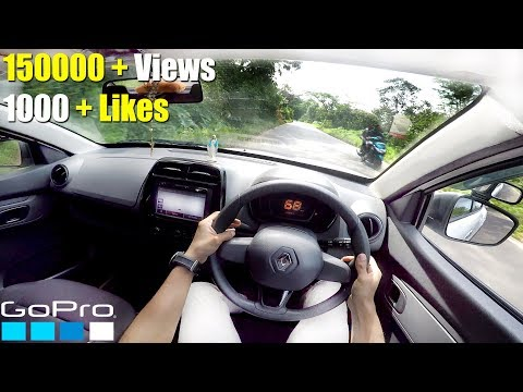 Renault Kwid GoPro POV Test Drive HD - SuperView Mode - RicTheCarLover
