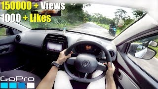 Renault Kwid GoPro POV Test Drive HD - First On YouTube