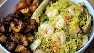 NIGERIAN FRIED RICE RECIPE | Nigerian Food Channel
