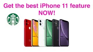 You can get the iPhone 11 Best feature NOW! - iPhone Xr iPhones X iPhone Xs Max iPhone 7 iPhone 8