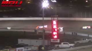 IMCA Late Model Deery Brothers Summer Series at Crawford County Speedway on April 4th, 2015