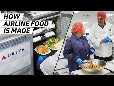 How Airplane Food Is Made to Be Served at 30,000 Feet — How To Make It