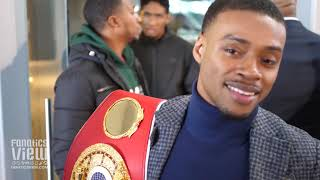 "Errol Spence on INFAMOUS Floyd Mayweather Sparring Session & says Floyd is ""Not Coming Back"""