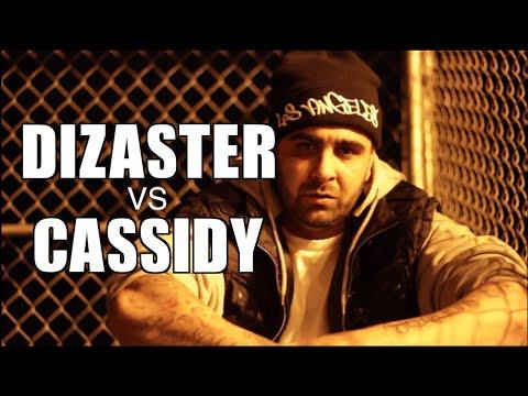 Dizaster outwrites Eminem for Cassidy battle (Dizaster vs Cassidy interview)