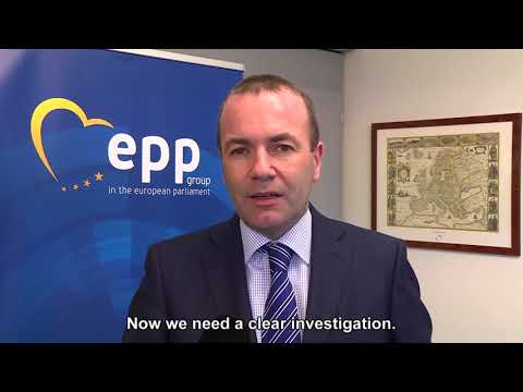 Manfred Weber's statement on the murder of Dapne Caruana Galizia