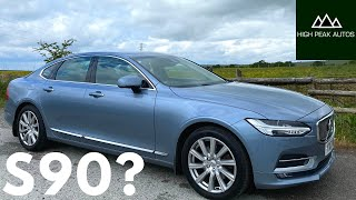 Should You Buy a VOLVO S90? (Test Drive & Review)