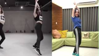 handclap 1million dance studio lia kim j lee choreography
