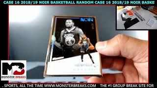 2018/19 NOIR BASKETBALL RANDOM CASE #16