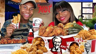 KFC MUKBANG with It