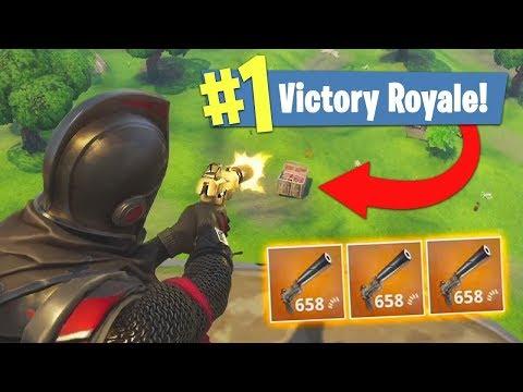 NUR PISTOLEN CHALLENGE! (heftig) - Fortnite Battle Royale Gameplay