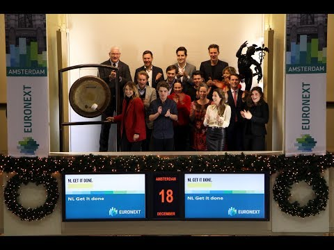 Organisation NL Get it done visits Euronext Amsterdam