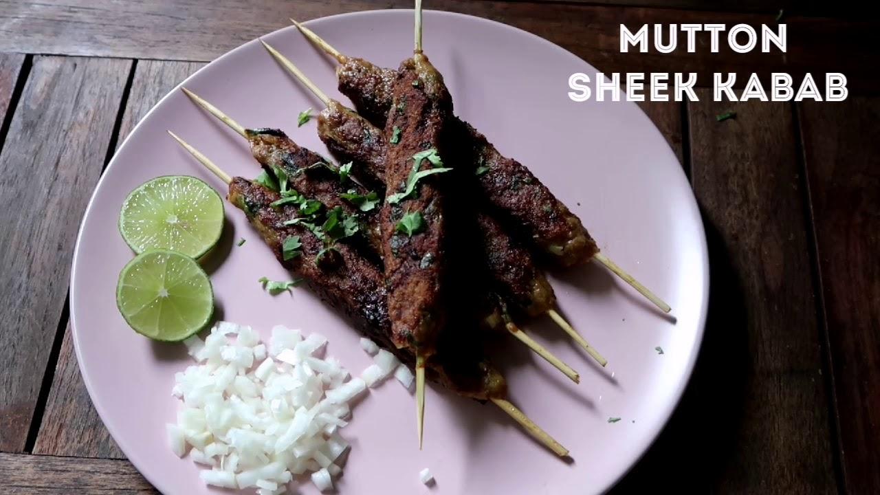 Paleo Mutton Sheek kabab