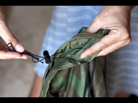 DIY Hiking Backpacking Gear Hammock Underquilt How to