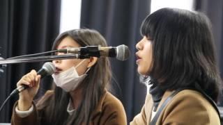 2017年3月19日 ギタサ卒業ライブにて.