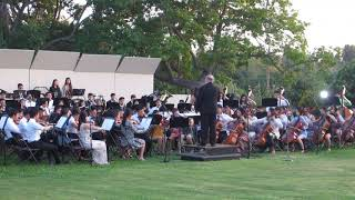 Arcadia High School Symphony Orchestra Pop Concert Arboretum Josh Groban Gold