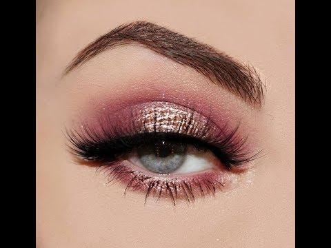 Simply Pink Eye Makeup Tutorial , Step by step makeup tutorial , Kayla Smith