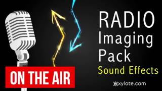 Radio Imaging Sound Effects Pack to use in your Radio Station