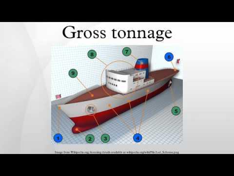 Gross tonnage