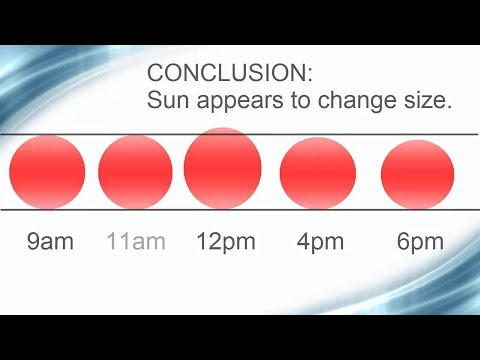 Flat Earth Proof   Sun Changes Size thumbnail