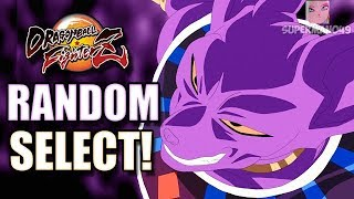 THE BEST FINISH IN DRAGON BALL FIGHTERZ! - Dragon Ball FighterZ Random Character Select