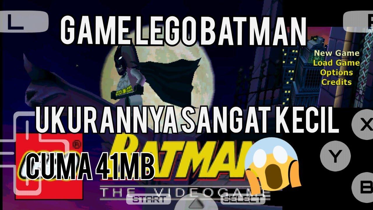 Game Lego Batman nds ukuran nya sangat kecil 😲 - YouTube