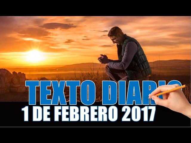 TEXTO DIARIO/ 1 DE FEBRERO DE 2017/ Acérquense a Dios/ JWORG