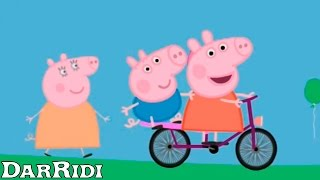 Пеппа на Велосипеде - свинка пеппа Peppa pig by bike