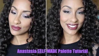 Anastasia SELF MADE Palette Tutorial + Wayne Goss Brush Set Demo