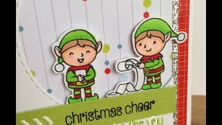 12 Days of Christmas Cards *Day 3* Elves