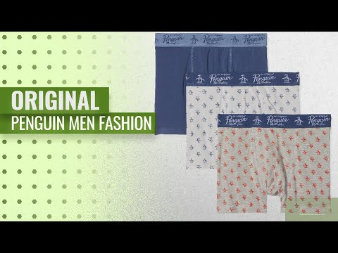Original Penguin Men Fashion [Hot New Arrivals 2018]: Original Penguin Men's Boxer Briefs