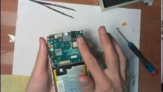Lenovo S850 Замена  дисплейного модуля (LCD Экрана).