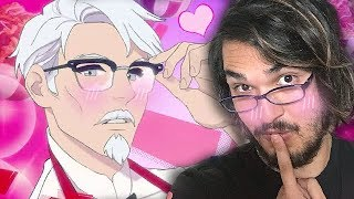 KFC Paid Me To Play Their Official Dating Sim and...