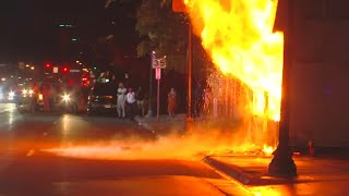 What Happened During Thursday Night's Riots In Minneapolis