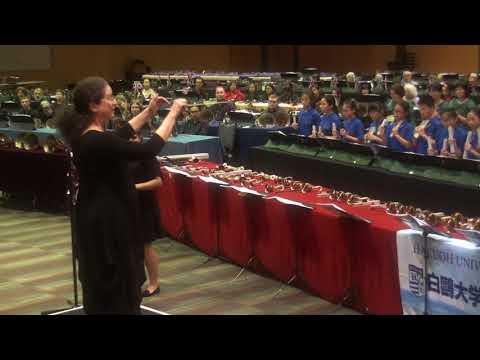 IHS 2018@ Cairns - Showcase Concert 3 - Handchimes Festival Massed Ringing Ensemble 3