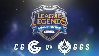Video CG vs. GGS - Week 1 Day 1 | NA LCS Spring Split | Clutch Gaming vs. Golden Guardians (2018) download MP3, 3GP, MP4, WEBM, AVI, FLV Agustus 2018