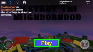 Roblox | playing DTN