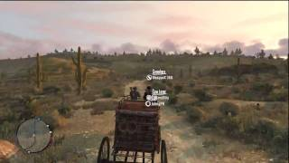 Red Dead Redemption Freeroam Gameplay - Gang Hideouts3